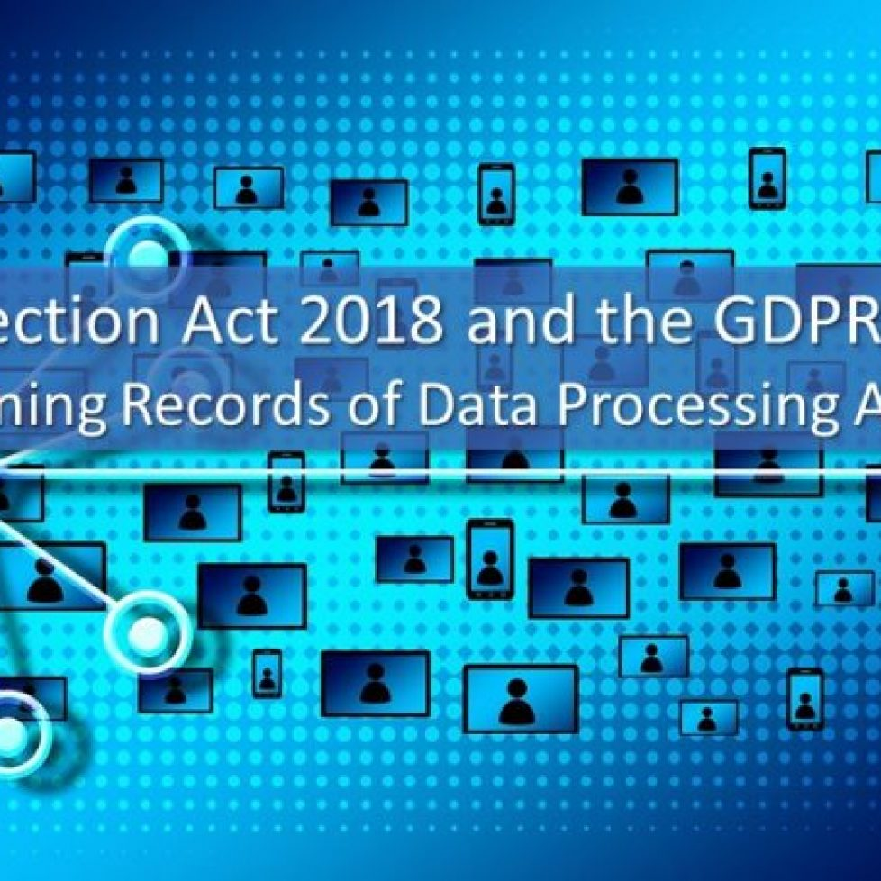 GDPR Article 30 – Maintaining Record of Processing Activities
